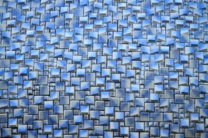 Fundatie Blue op acryl Jules Noordeloos atelier De Zeelt in Beeld