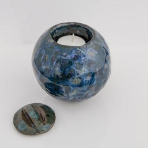 mini urn glazuur Gerdien Noordeloos atelier De Zeelt in Beeld